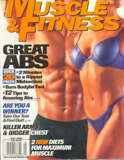 Muscle & Fitness - May 1999
