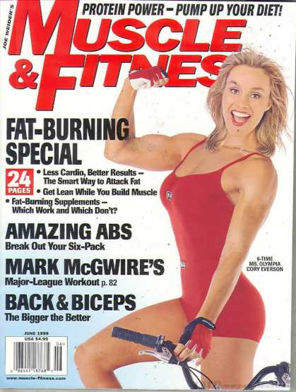 Muscle & Fitness - June 1999