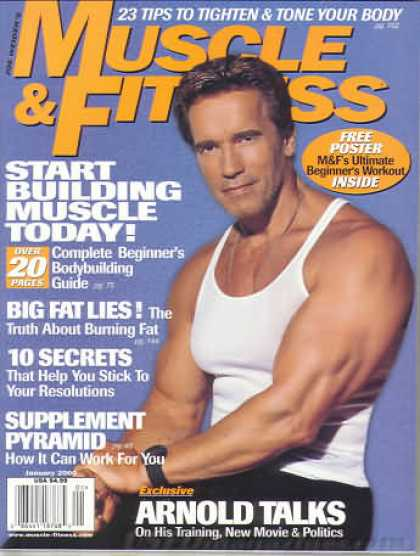 Muscle & Fitness - January 2000