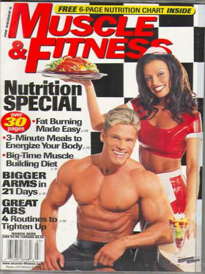 Muscle & Fitness - March 2000