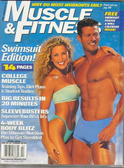 Muscle & Fitness - April 2000