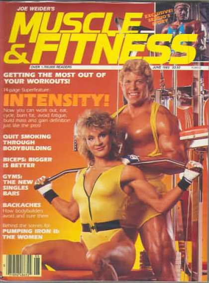 Muscle & Fitness - June 1985