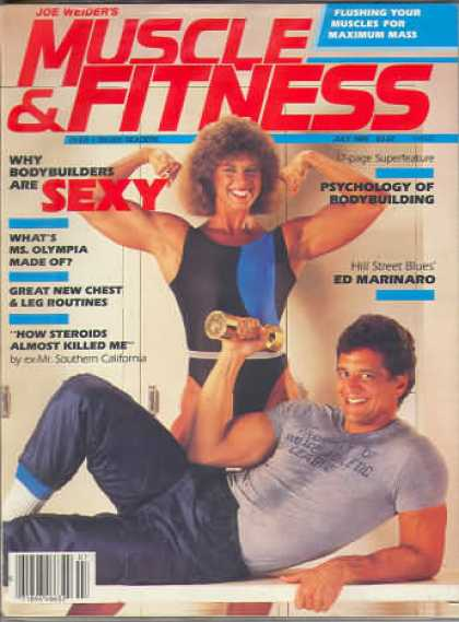 Muscle & Fitness - July 1985