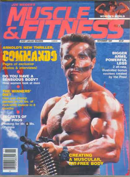 Muscle & Fitness - November 1985