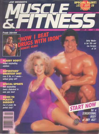 Muscle & Fitness - January 1986