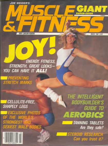 Muscle & Fitness - March 1986