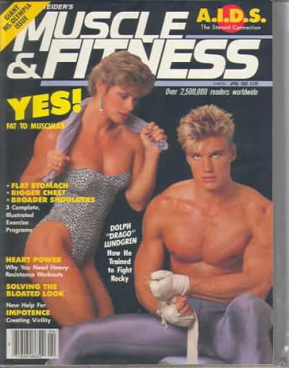 Muscle & Fitness - April 1986