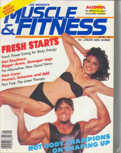 Muscle & Fitness - June 1986