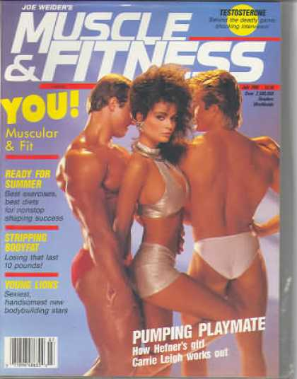 Muscle & Fitness - July 1986