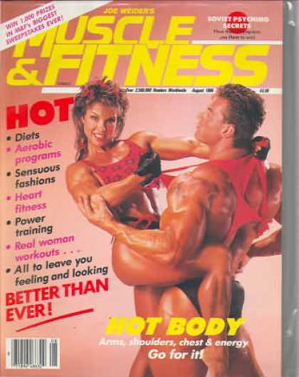 Muscle & Fitness - August 1986
