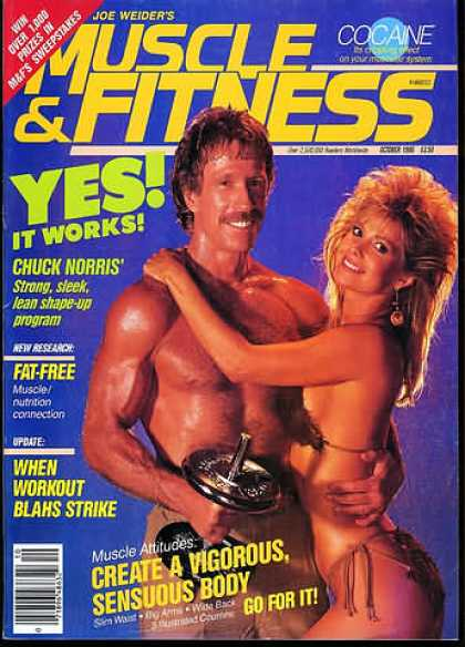 Muscle & Fitness - October 1986