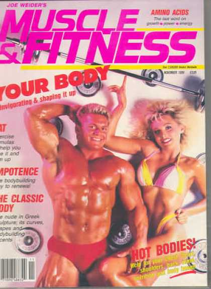 Muscle & Fitness - November 1986
