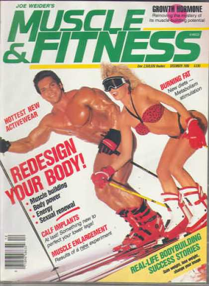Muscle & Fitness - December 1986