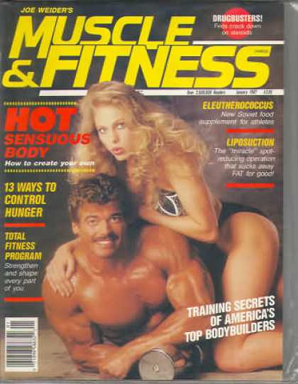 Muscle & Fitness - January 1987