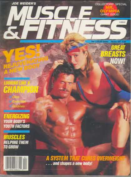 Muscle & Fitness - February 1987