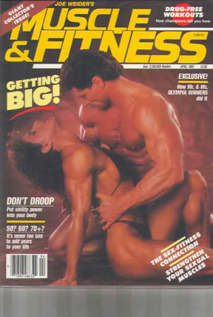 Muscle & Fitness - April 1987