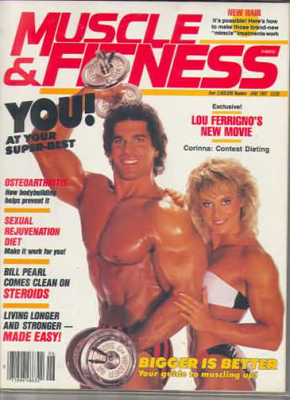 Muscle & Fitness - June 1987