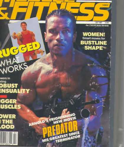 Muscle & Fitness - July 1987