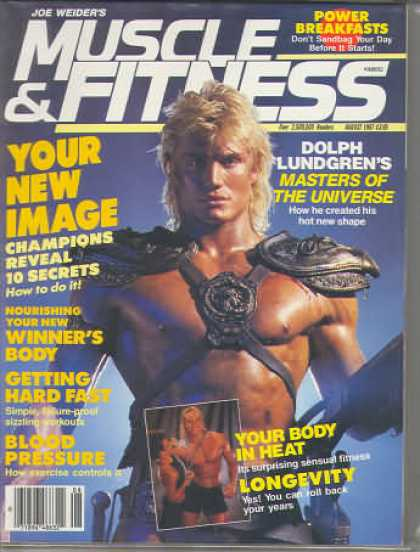 Muscle & Fitness - August 1987