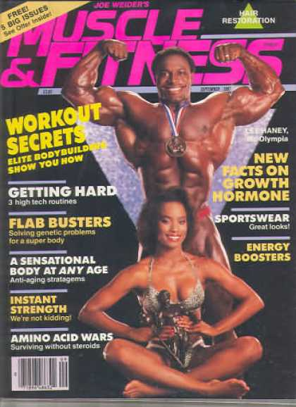 Muscle & Fitness - September 1987
