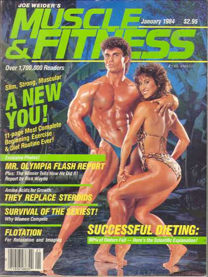 Muscle & Fitness - January 1984