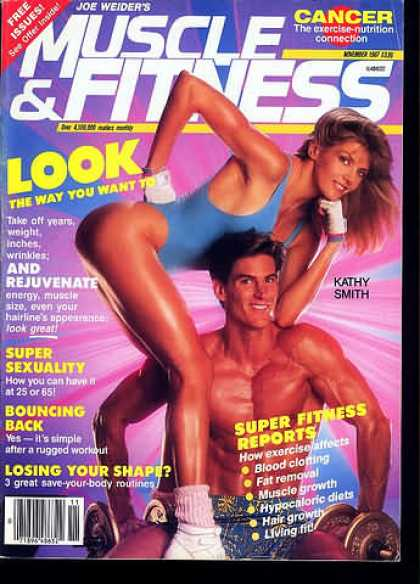 Muscle & Fitness - November 1987