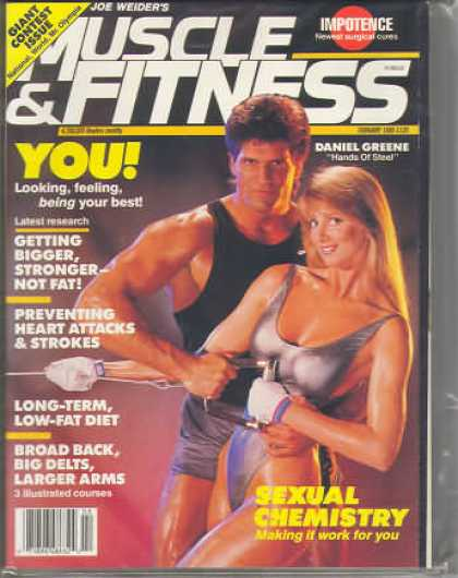 Muscle & Fitness - February 1988