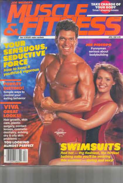 Muscle & Fitness - April 1988