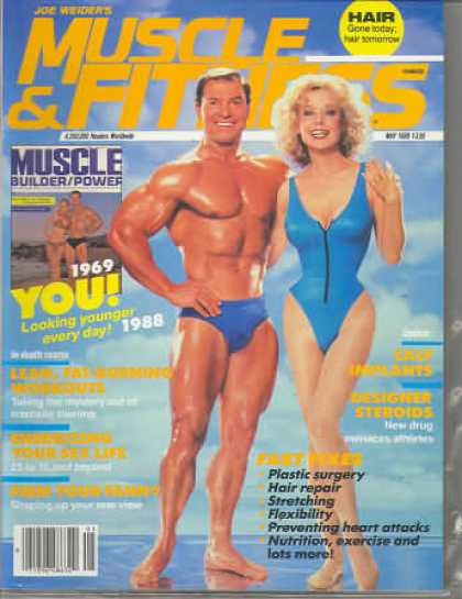Muscle & Fitness - May 1988