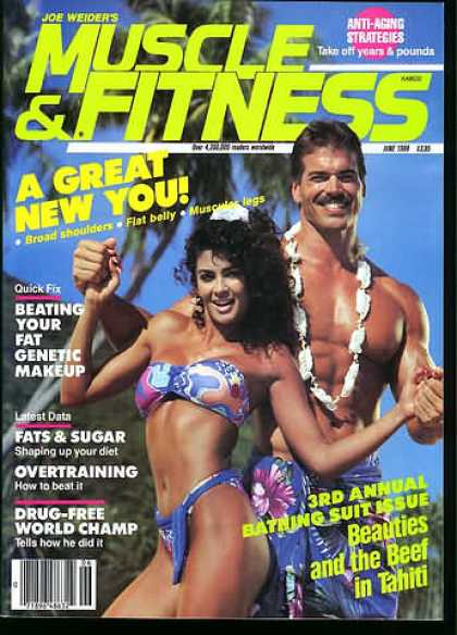 Muscle & Fitness - June 1988