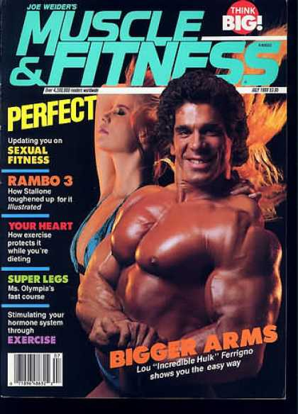 Muscle & Fitness - July 1988