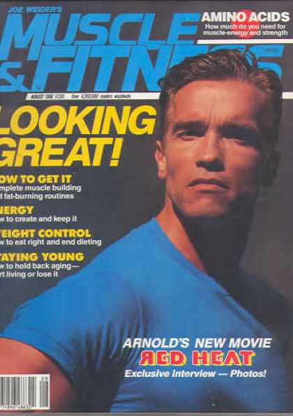Muscle & Fitness - August 1988