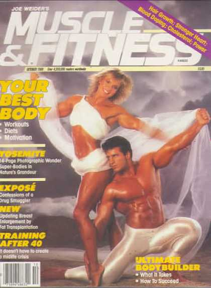 Muscle & Fitness - October 1988