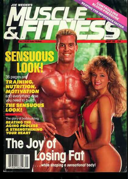 Muscle & Fitness - January 1989