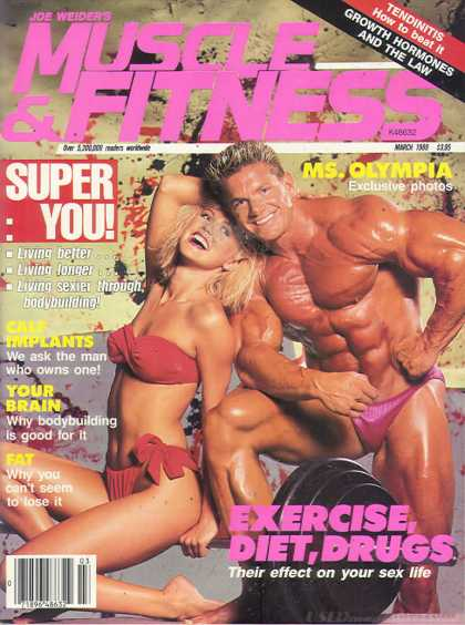 Muscle & Fitness - March 1989