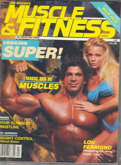 Muscle & Fitness - April 1989