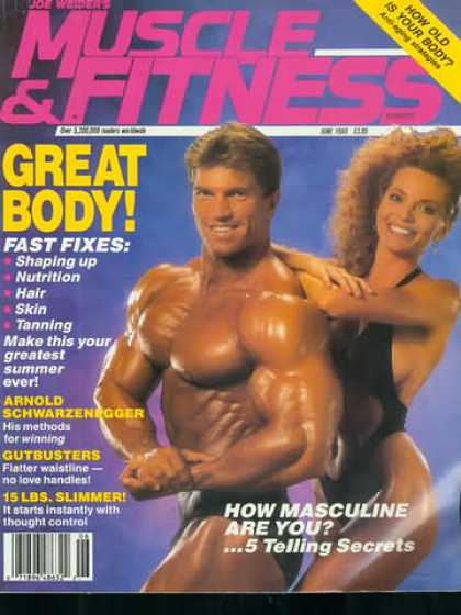 Muscle & Fitness - June 1989
