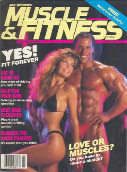 Muscle & Fitness - August 1989