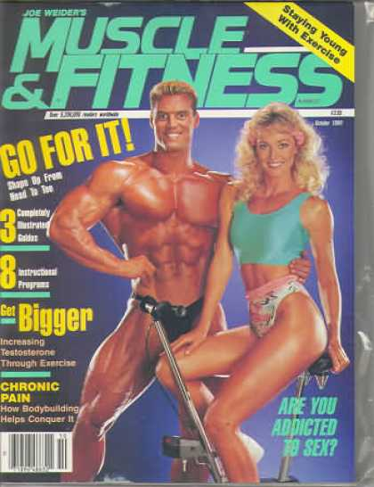Muscle & Fitness - October 1989