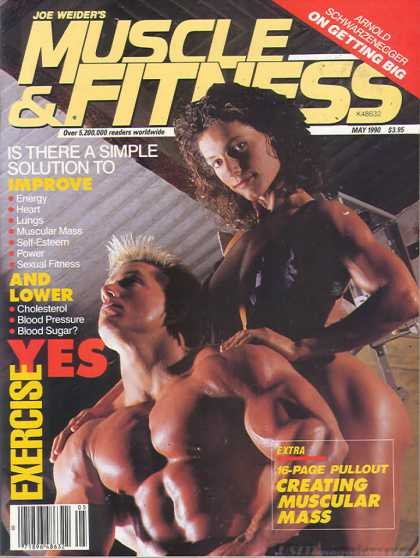 Muscle & Fitness - May 1990
