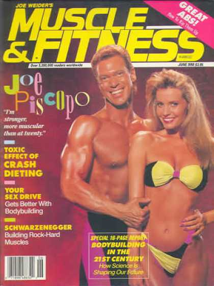 Muscle & Fitness - June 1990