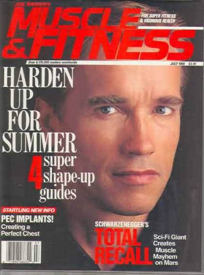 Muscle & Fitness - July 1990