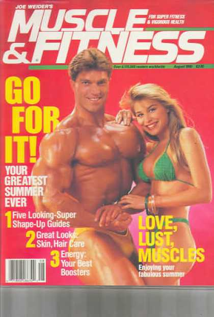 Muscle & Fitness - August 1990