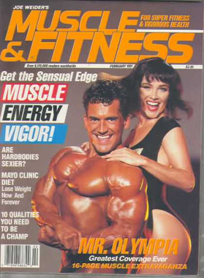 Muscle & Fitness - February 1991