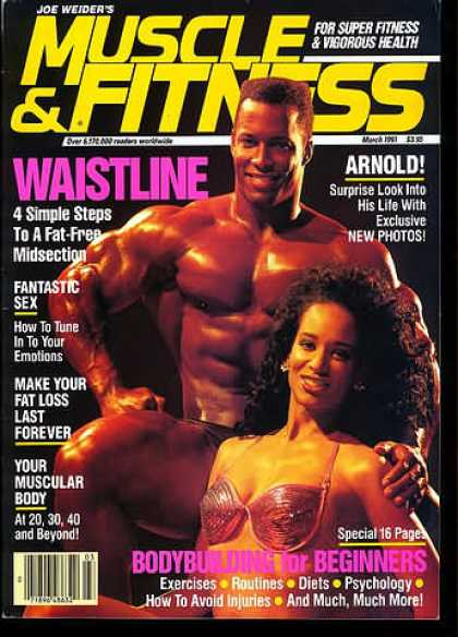 Muscle & Fitness - March 1991