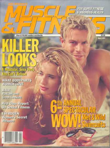 Muscle & Fitness - April 1991