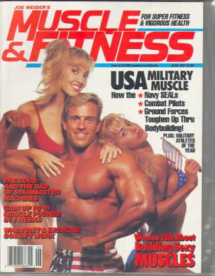 Muscle & Fitness - June 1991