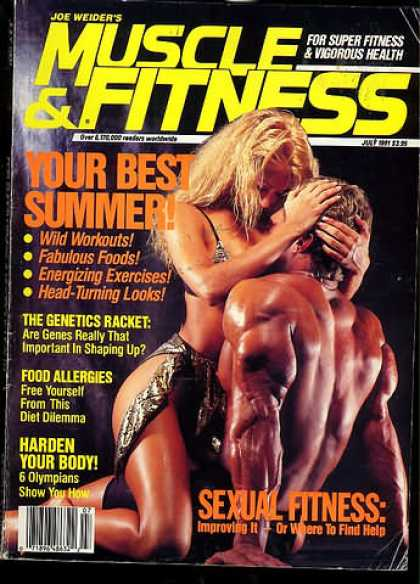 Muscle & Fitness - July 1991