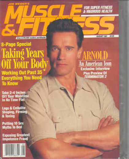 Muscle & Fitness - August 1991