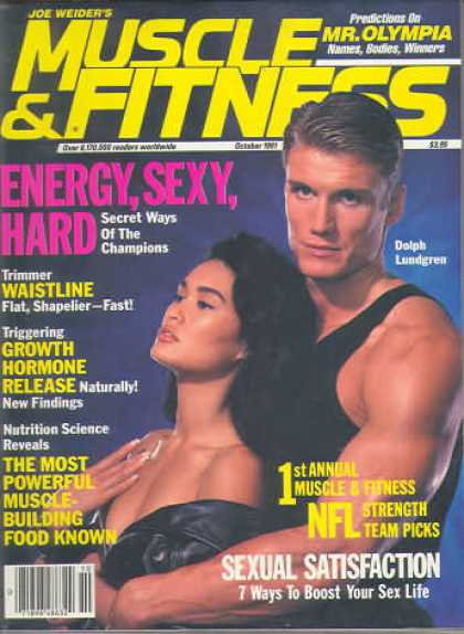Muscle & Fitness - October 1991